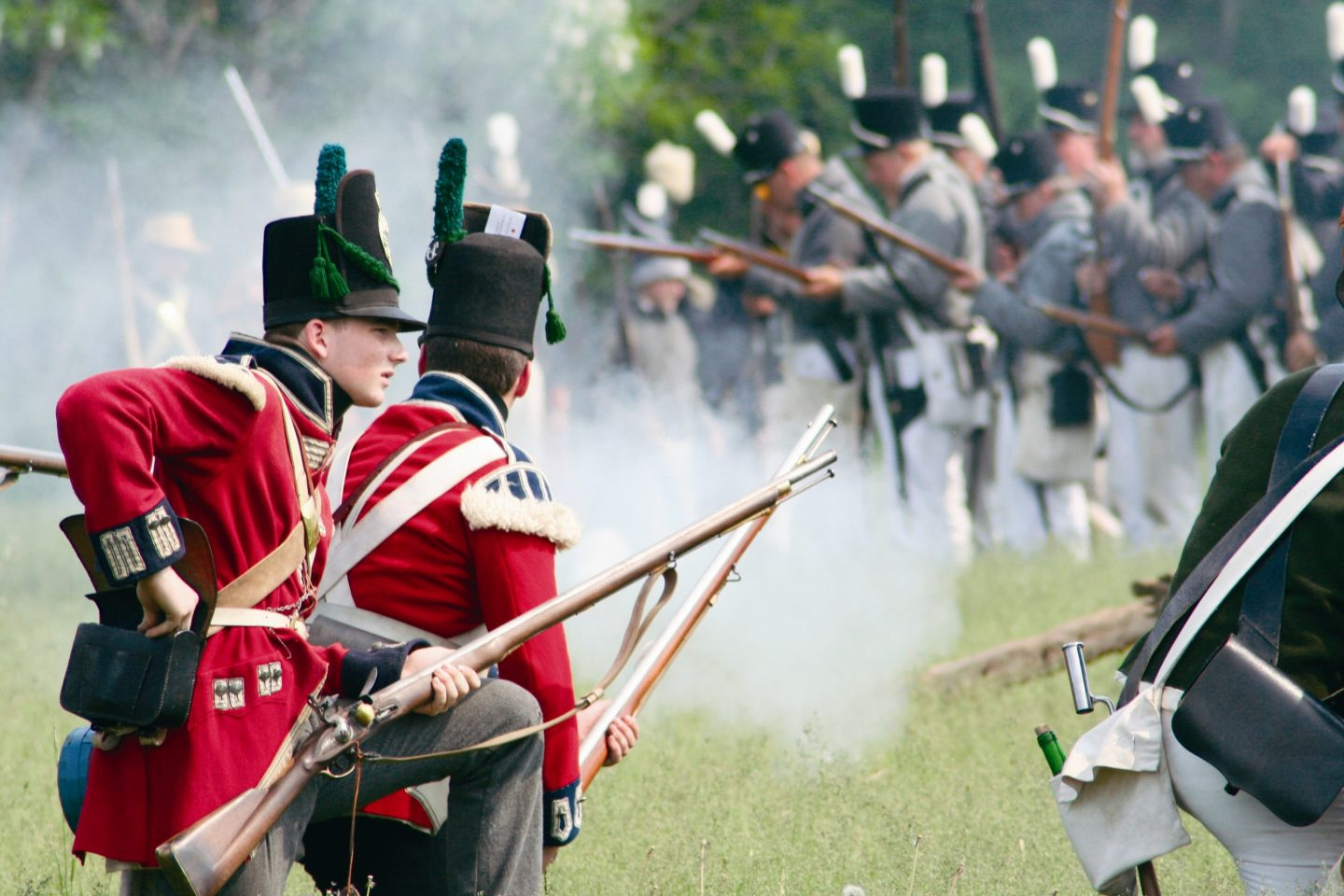2020 Re-enactment of the Battle of Stoney Creek