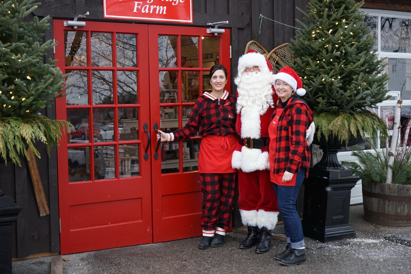 Santa's Workshop Experience During Christmas on the Farm