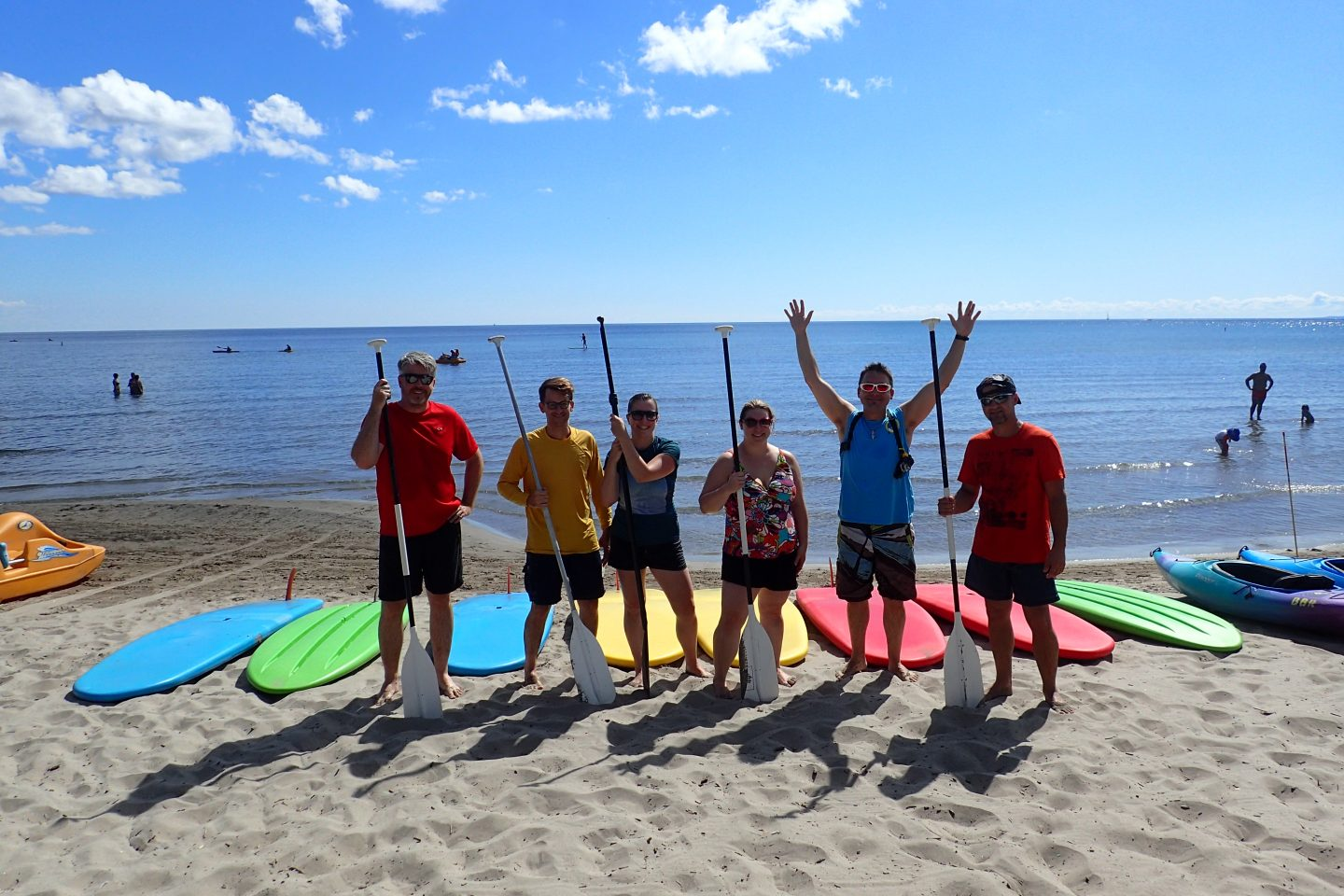 Learn to Stand Up Paddleboard With Us!