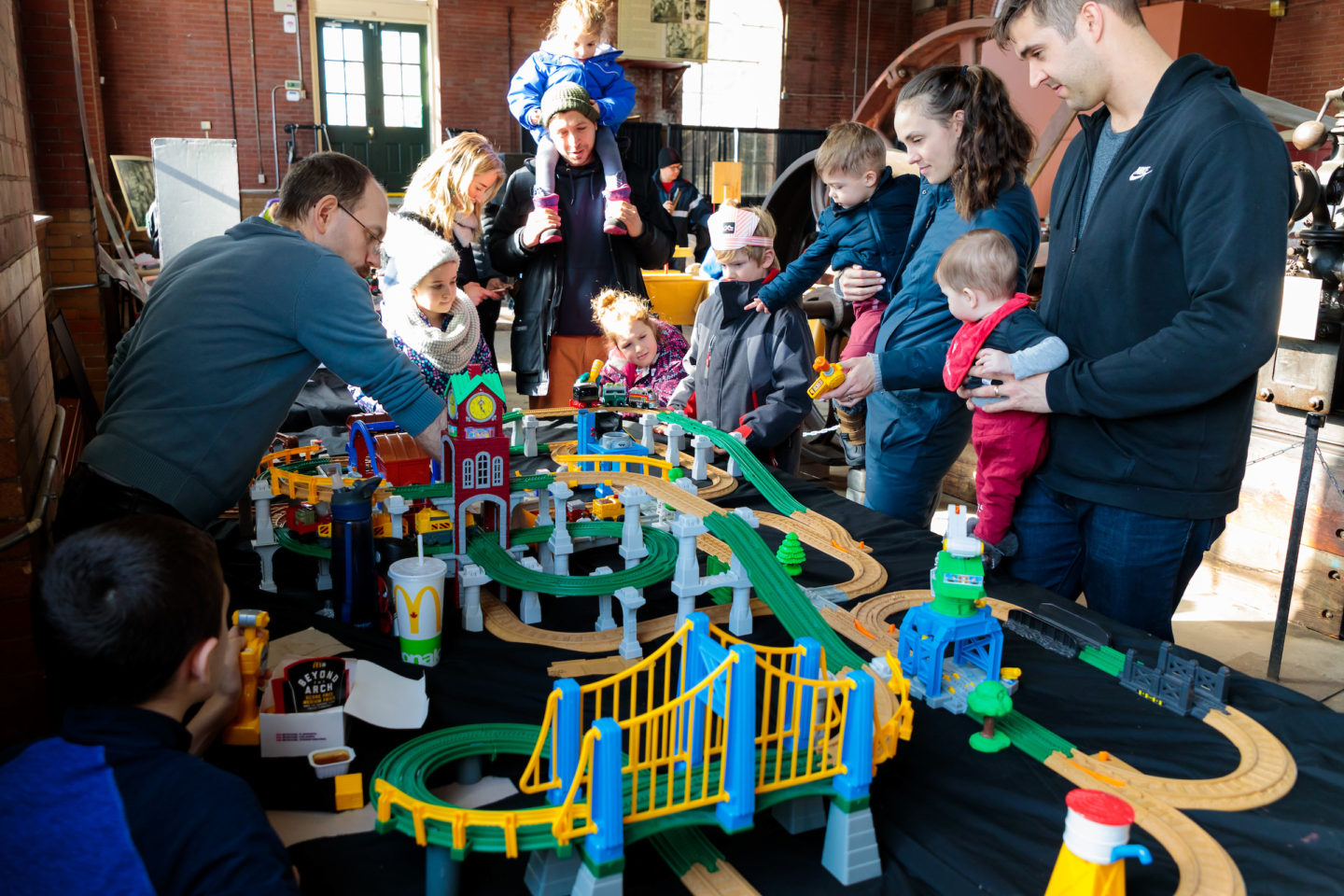 Family Day Activity: Trains, Trains and more Trains!