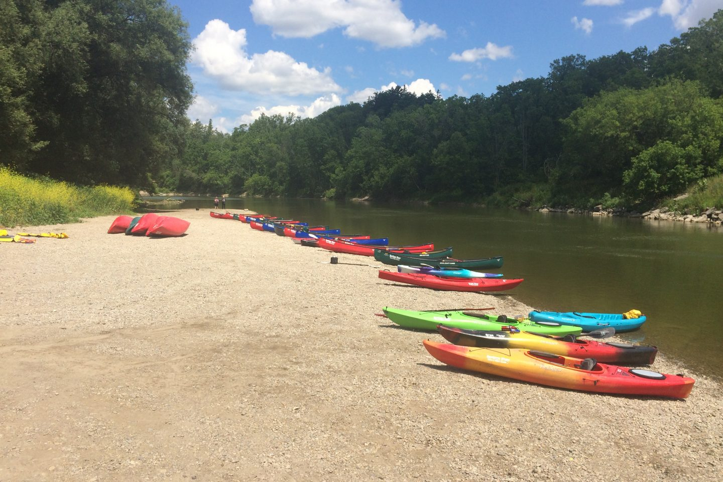 Two Row on the Grand… A Paddle with The First Nations