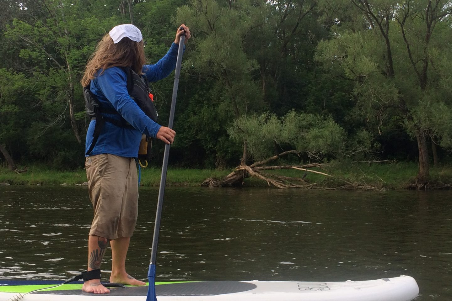 The Lone Ranger…  Paddle & Explore A River Map!