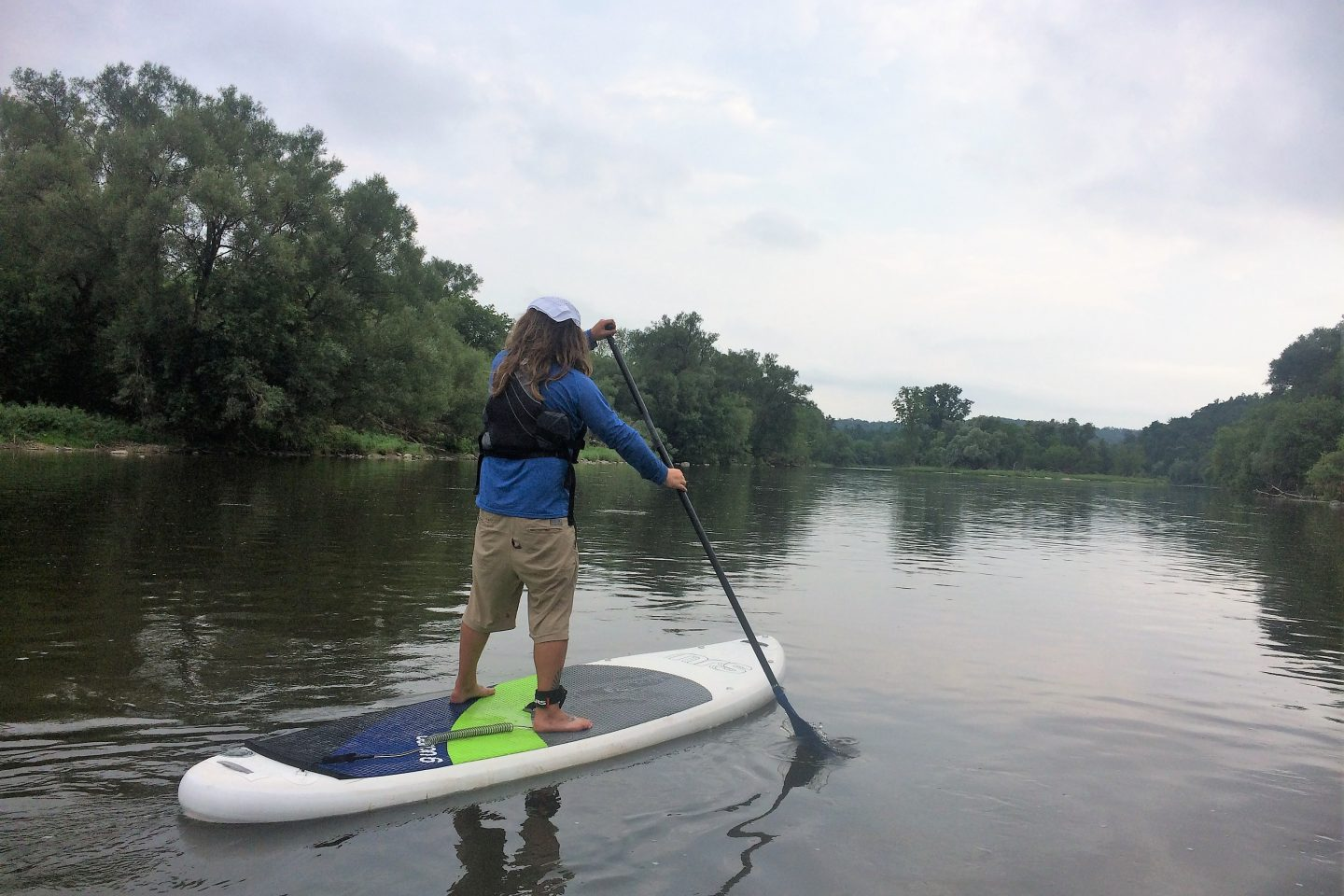 "The ""All in One"" …  A Beginner Paddling Lesson & Trip"