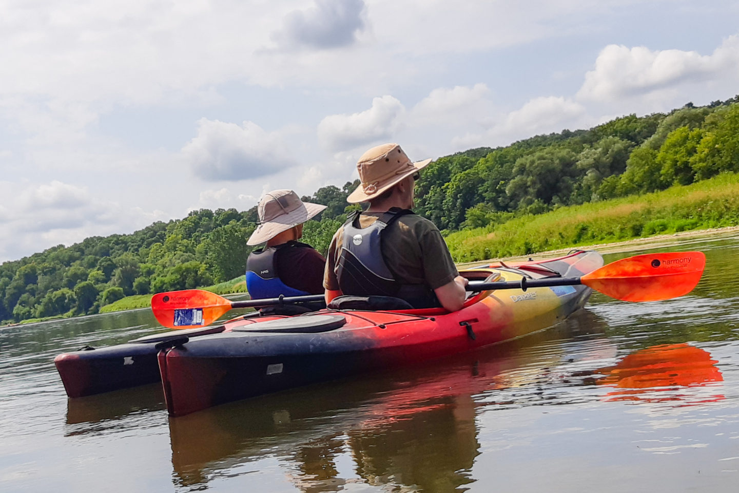 Kayak Trips on the Grand River