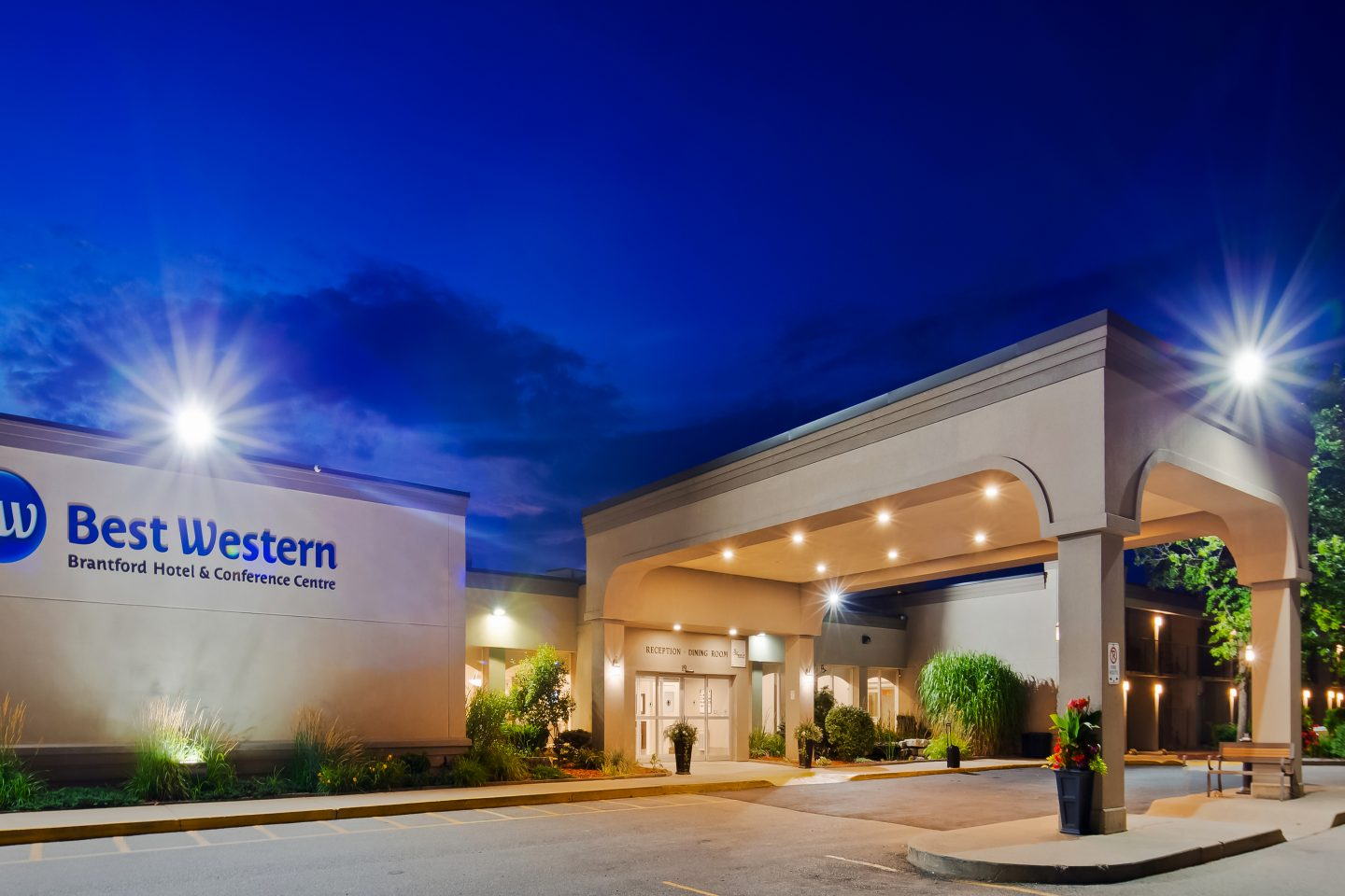 15% off flexible hotel rate at Best Western Brantford Hotel