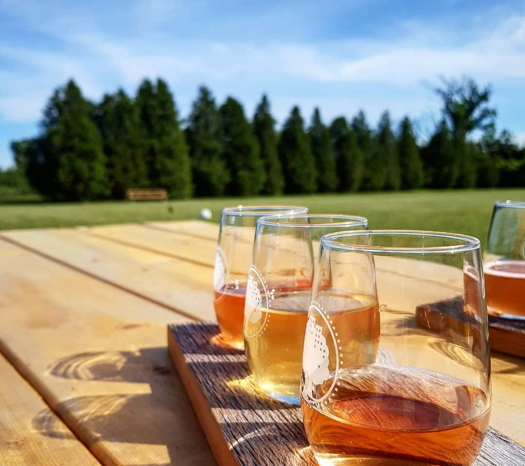 Outdoor Firepit Cider Tasting Experience