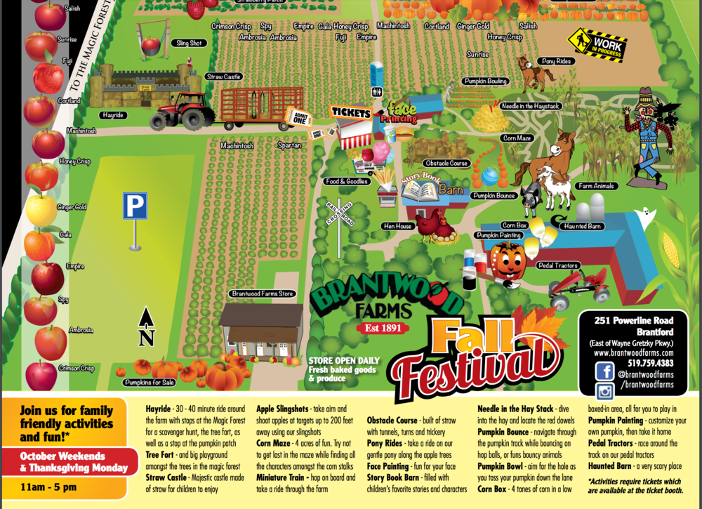 Fall Festival Weekends at Brantwood Farms