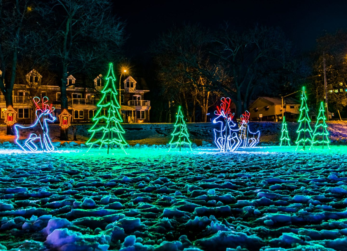 Burlington S Lakeside Festival Of Lights Festivals
