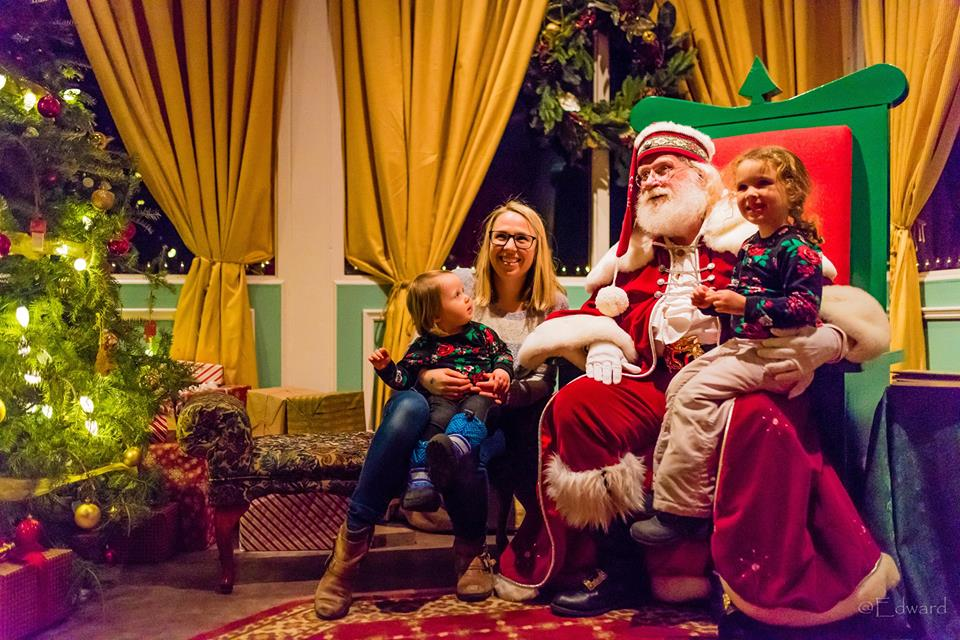 Brunch with Santa and Mrs. Claus during RBG's Holiday Traditions