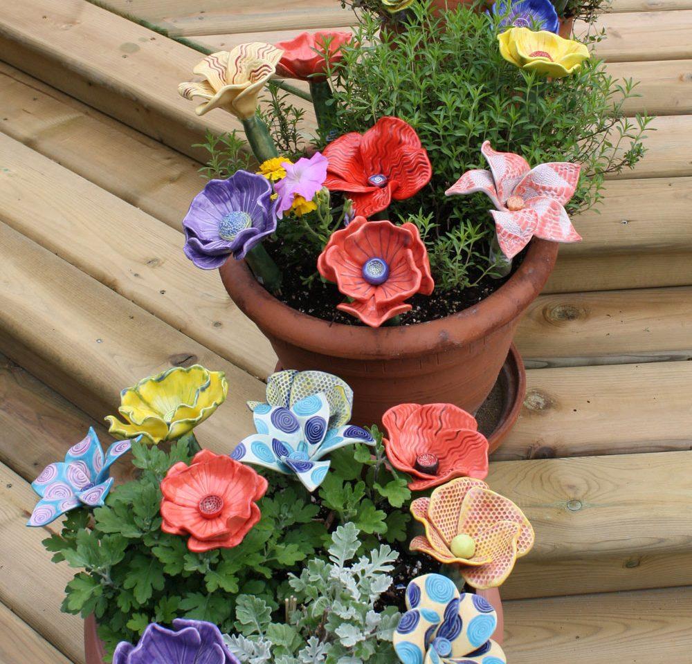 Garden Art Show and Sale – Pottery, Jewellery & Fibre Art