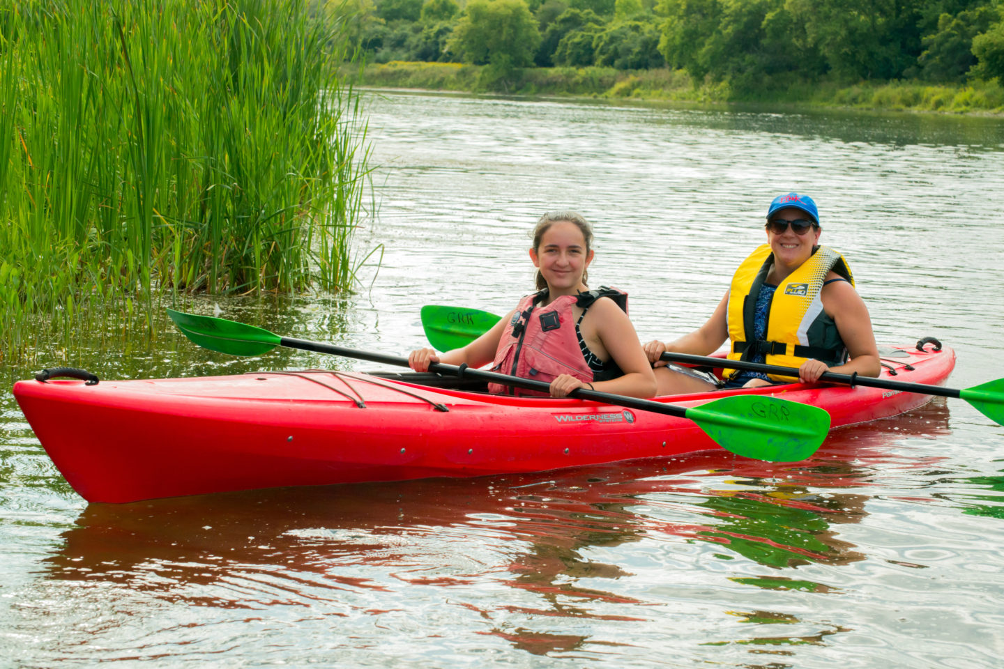 Tandem Kayak Trips on the Grand River