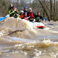 Nith River Spring Whitewater Rafting Experience