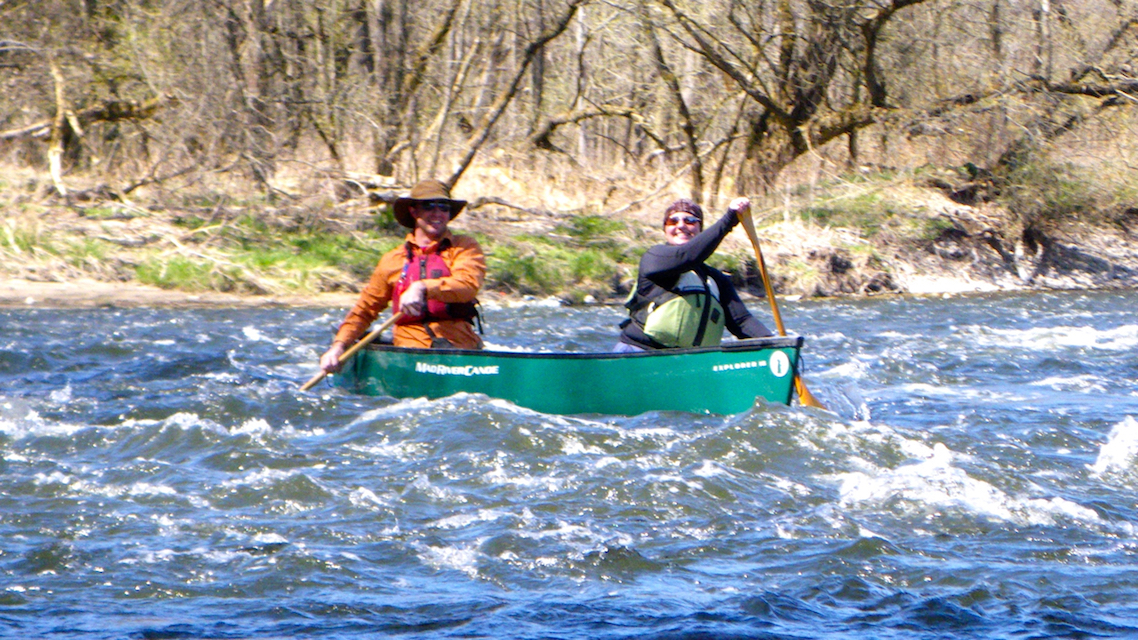 Upper Nith River Experience in Spring