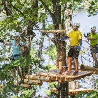 Tree Top Trekking – $10 off zipline & aerial game treks