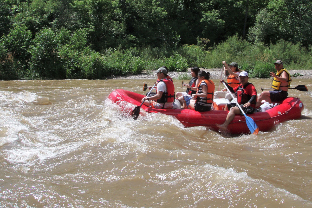 Nith River White Water Rafting