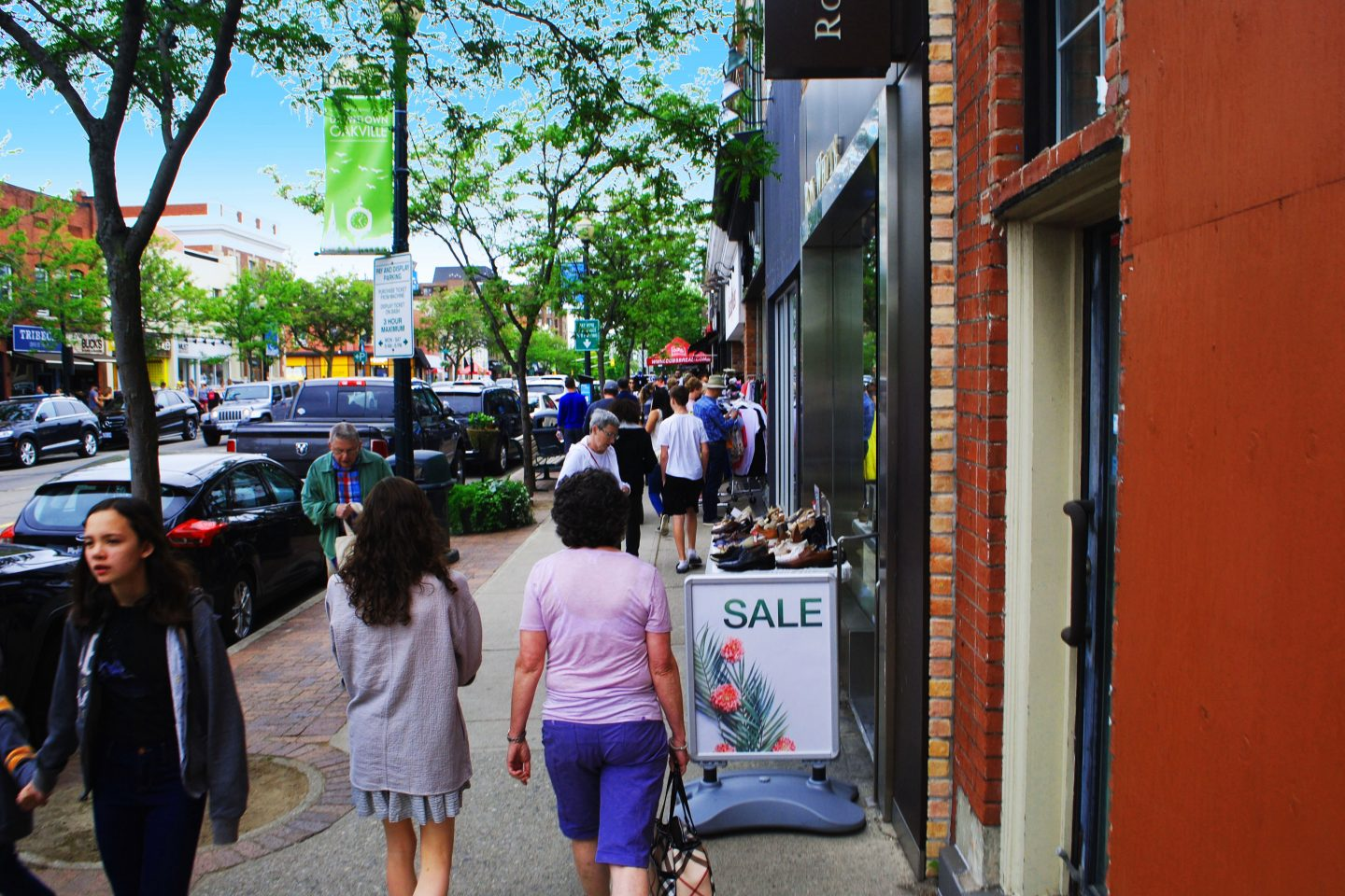 Downtown Oakville Sidewalk Sale