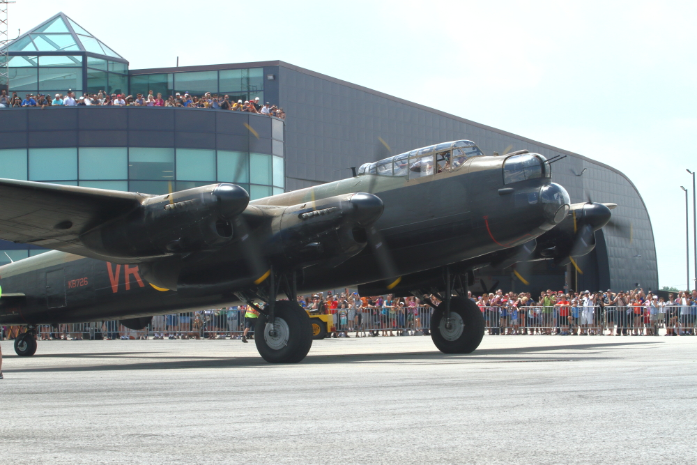 Fly in an Avro Lancaster!
