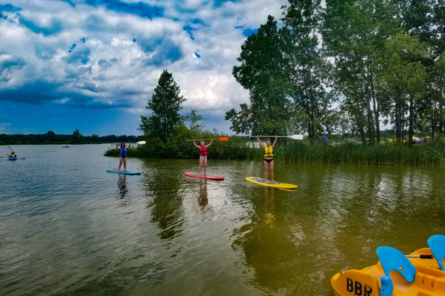 Stand Up Paddleboard Group Lesson at Binbrook Conservation Area