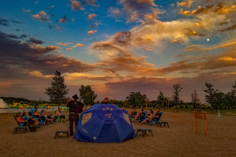 Full Moon Social – SUP on Lake Niapenco at Binbrook's CA