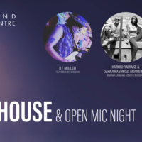 Coffee House & Open Mic Night at Woodland Cultural Centre