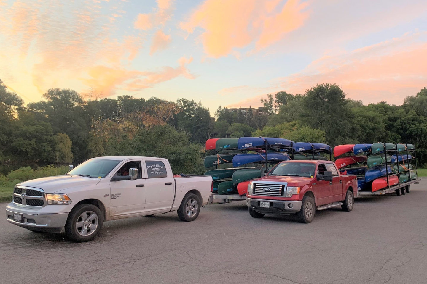 Private Boat Shuttles on the Grand River