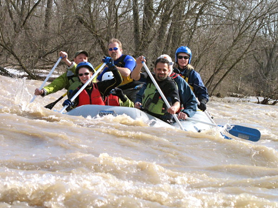 Heart of Ontario Whitewater Rafting Experience