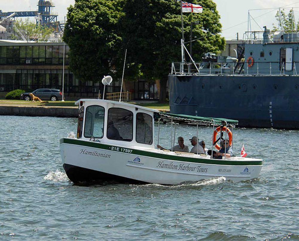 Hamiltonian Tour Boat