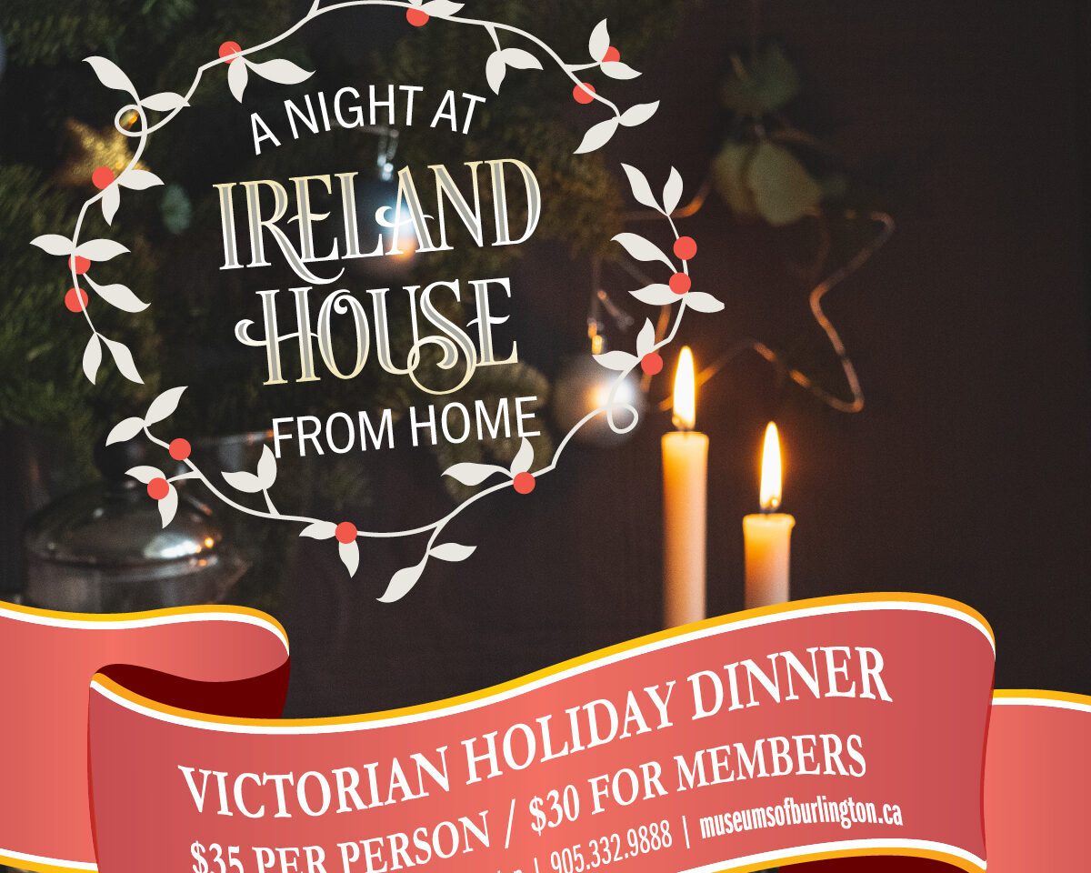 A Night at Ireland House (from home)
