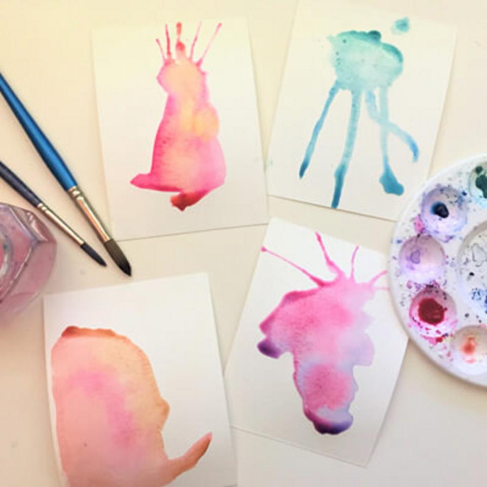 Virtual Kids Studio Class: Paint, Draw, Print!