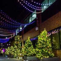 Burlington Downtown Bright Lights