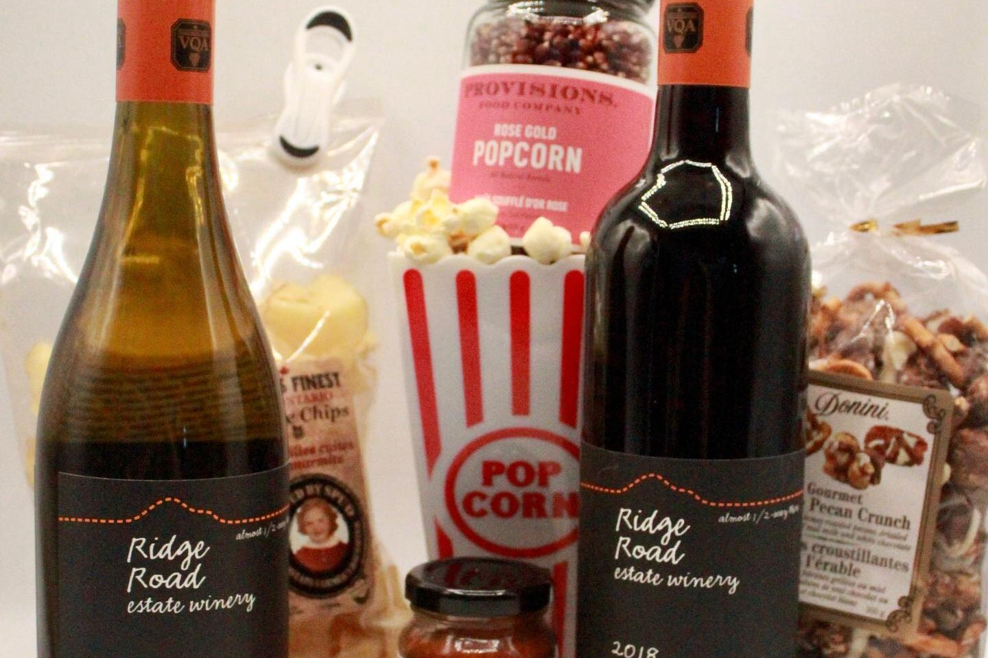 Wine and Movie Night Package