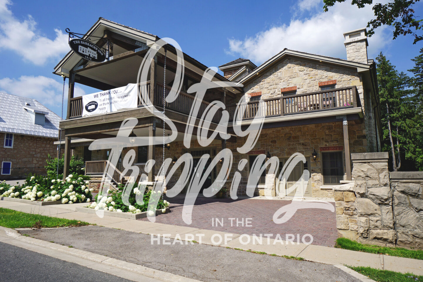 Girlfriends Getaway, Shop Local One-Night Package at The Barrack's Inn