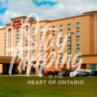 Brewing in Your Sleep for Two Package at Hampton Inn & Suites Brantford