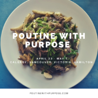 Poutine with a Purpose