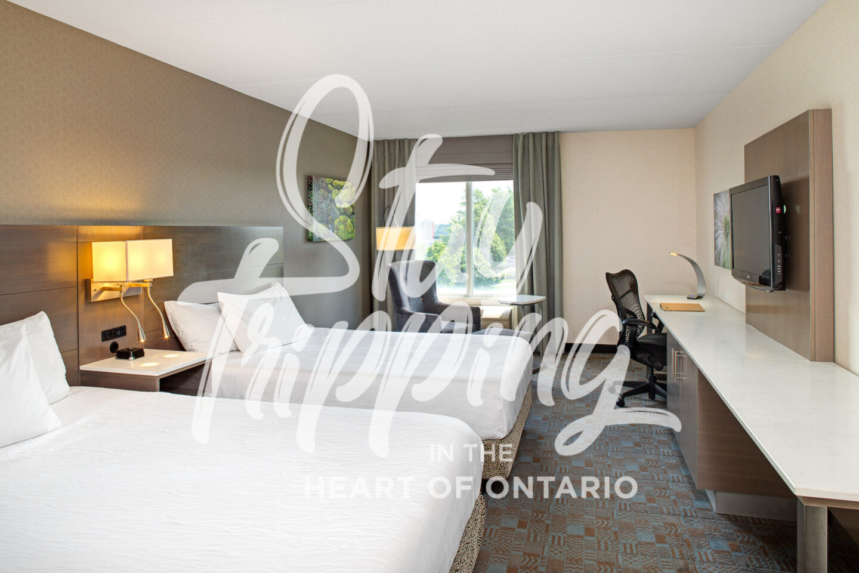 One-Night Staycation at Hilton Garden Inn Toronto/Oakville