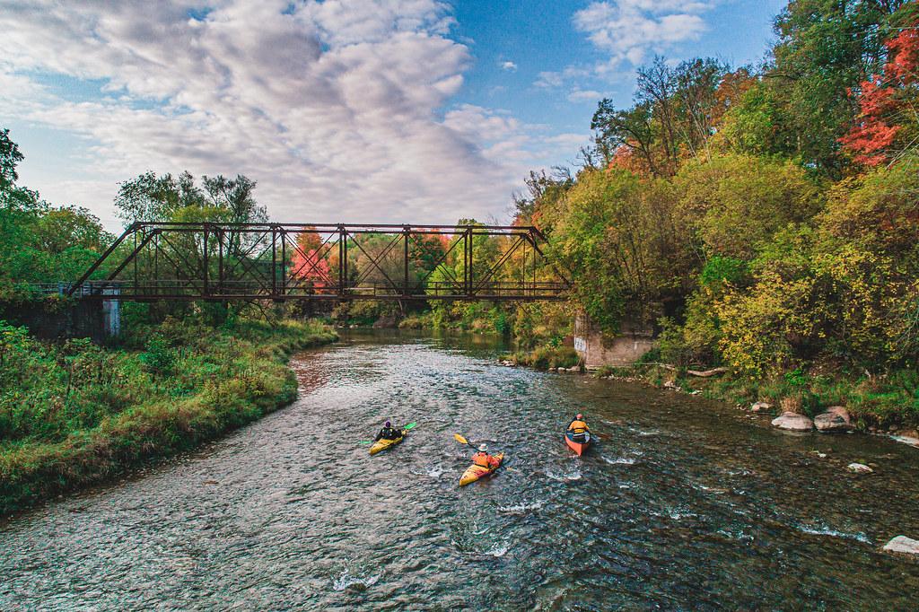 Overnight Grand River Canoe Camping Trip