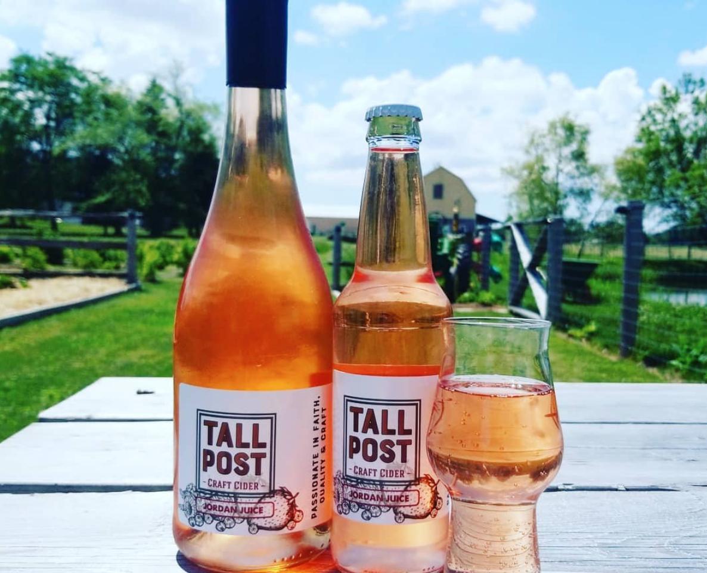 Tastings at Tall Post Craft Cidery