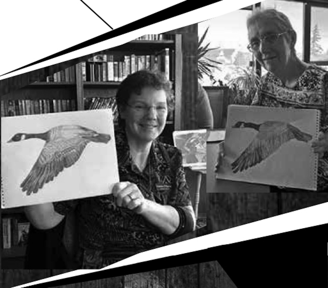Private Drawing Lesson with Darlene Hartung
