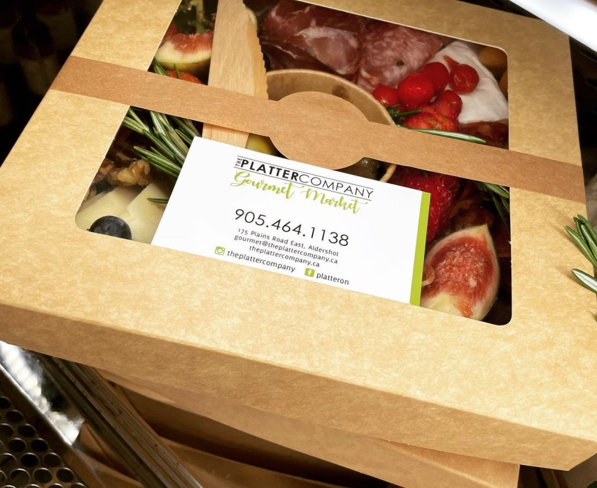 Charcuterie Box from The Platter Company Gourmet Market